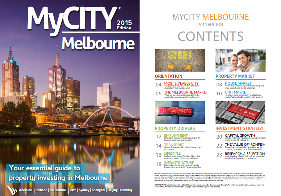 Melbourne Cover