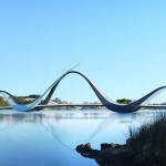 WA Government unveils design of pedestrian footbridge to Perth Stadium