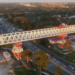 First section of Sydney Metro Northwest's skytrain complete