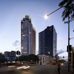 [Brisbane] Aria Unveils Incredible Waterfall Inspired Tower for South Brisbane