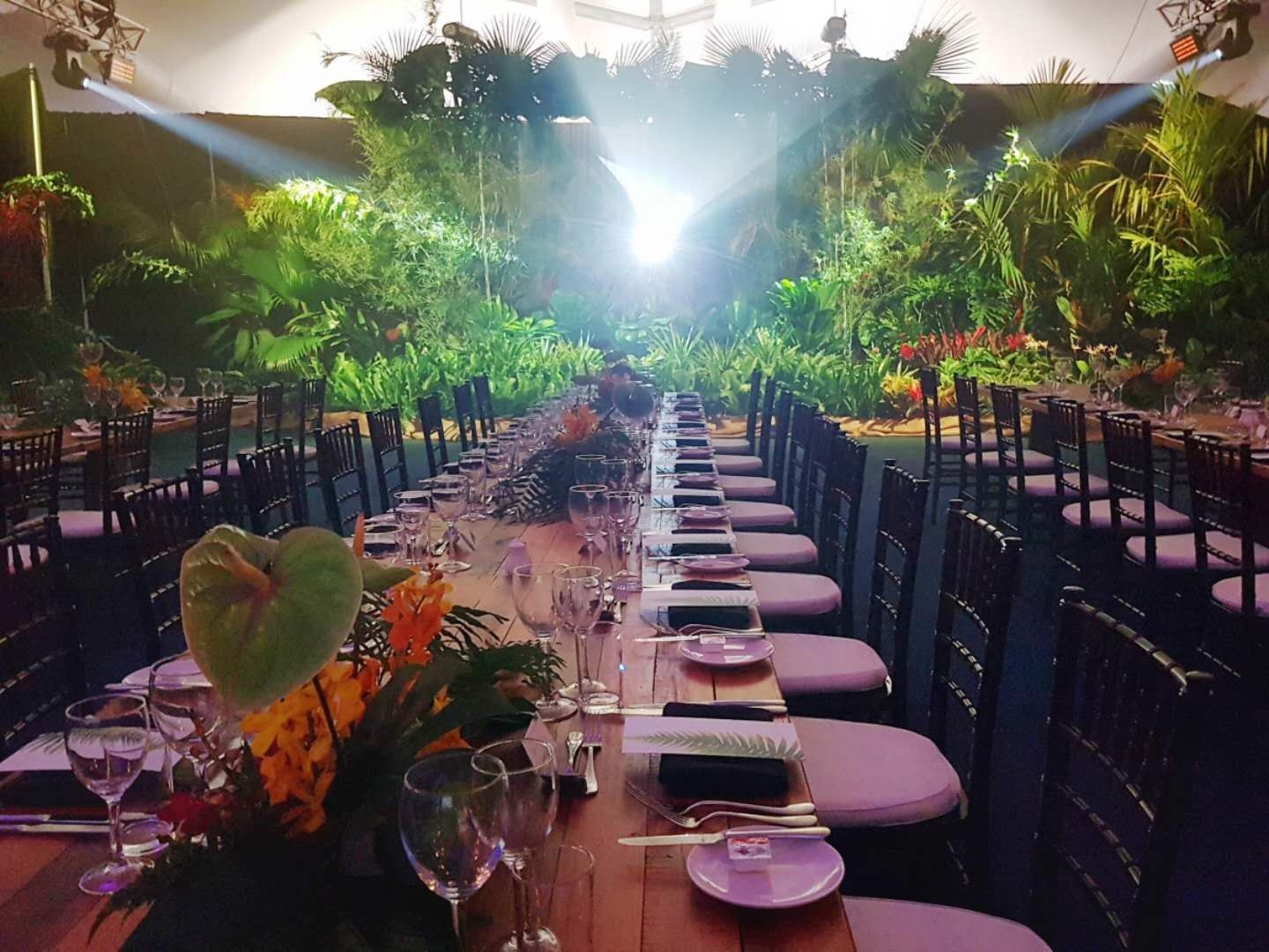 Tropical Themed Gala Night