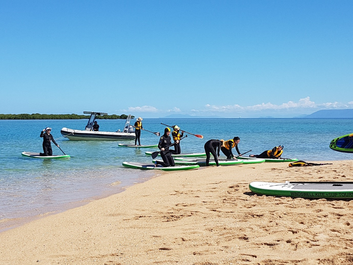 Group Activity - Stand Up Paddle Board