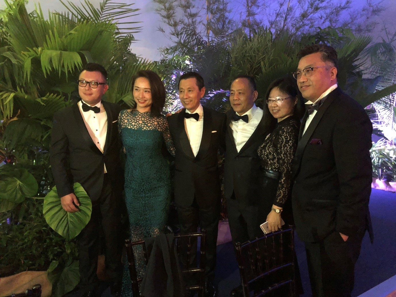 Joseph Chou with Leaders from China at Gala Night